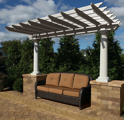 cambridge pergolas sold at livingston park nursery. Black Bedroom Furniture Sets. Home Design Ideas