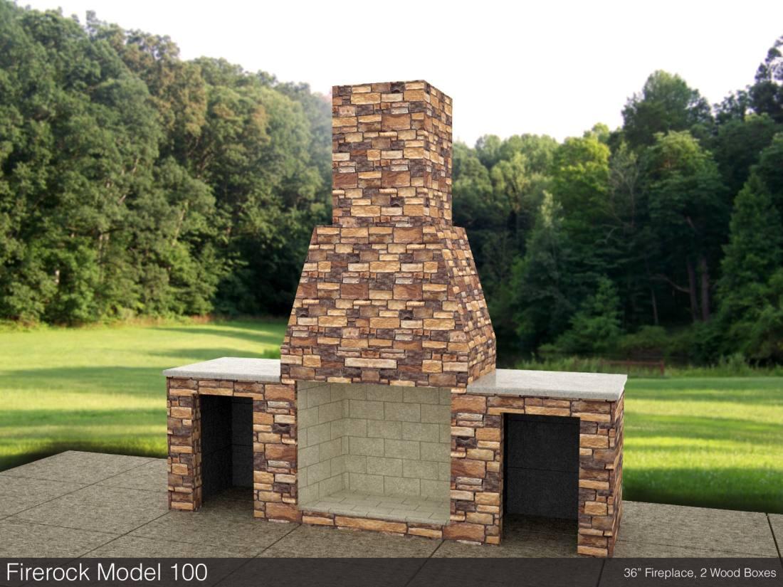 Firerock Fireplace Dimensions 16 16 Punchchris De