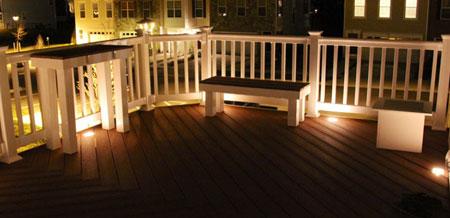 Deck and Dock Lights & Livingston Park Nursery carries Kerr Landscape Lighting azcodes.com